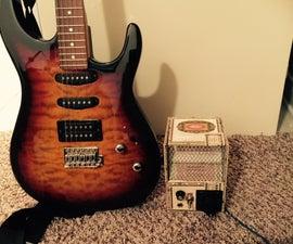 Basic Electronic Amplifier 9v To 12v Cigar Box Closed Guitar Amp