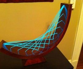 EL Wire Spiderweb