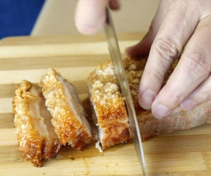 How to Cook Roasted Pork Belly With Crispy Crackling