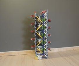 Knex Ball Machine Element: Cross Ties Zig Zag