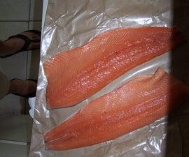 BBQ Smoked Salmon