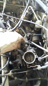 Remove the Air Filter and Unclip the Map and Tps Sensors Plus the Iacv.