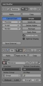 Add the Modifiers