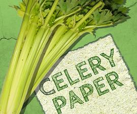 Super-Green Celery Paper!