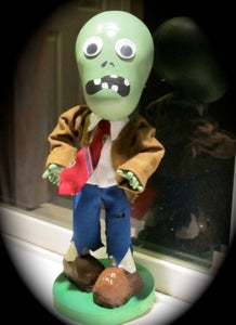 Plants Vs Zombies Coin Bank From Recycled Toys