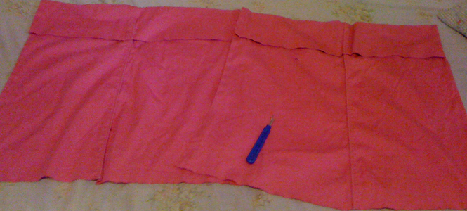 Making the Top Part of the Overalls