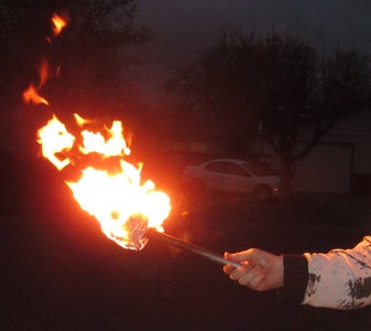 How to Make a Reuseable Torch for Fire Breathing