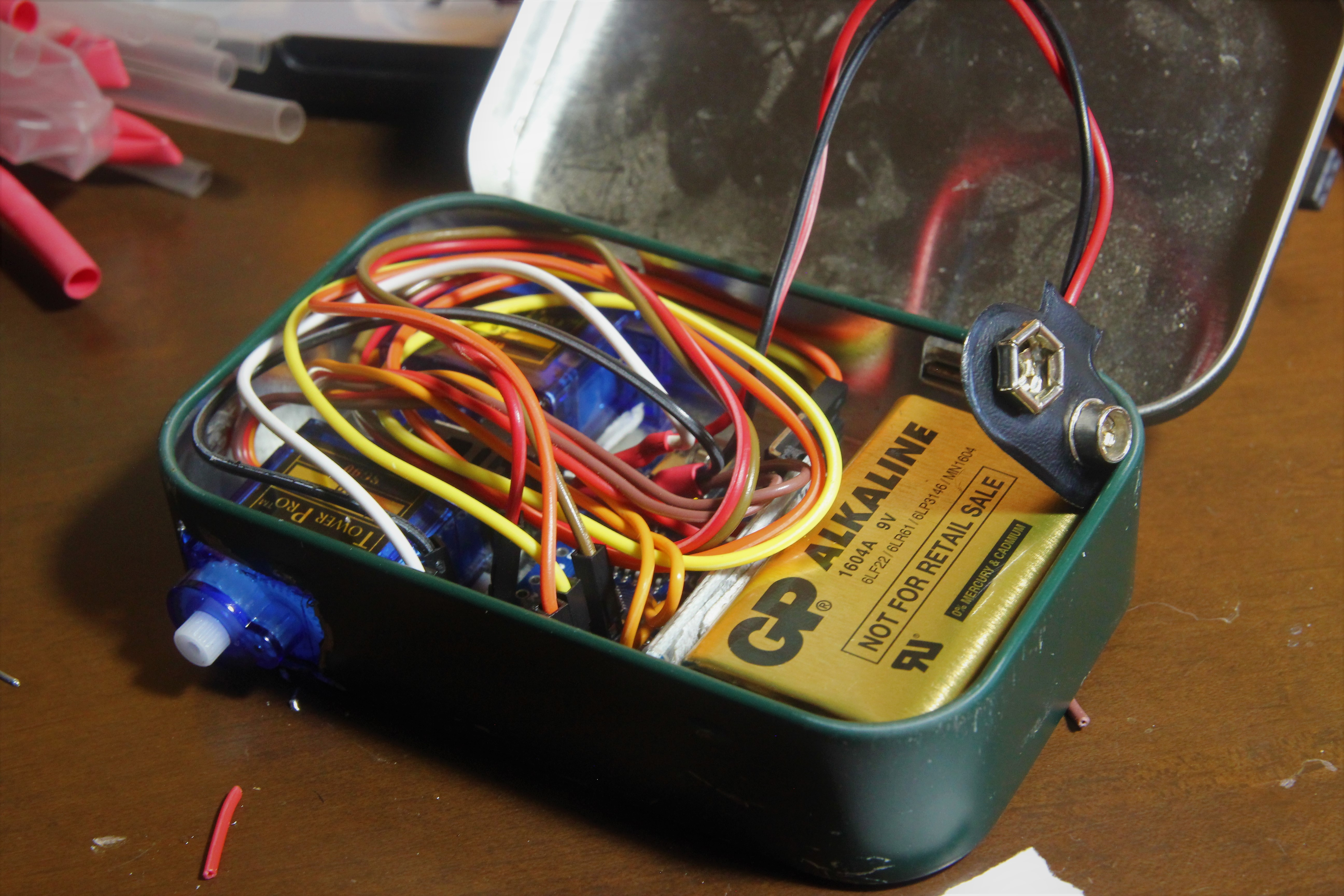 Picture of Sticking Everything Into the Tin Box