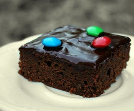 The Best M&M Chocolate Brownies