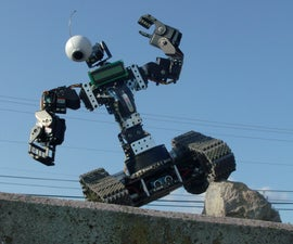 Autonomous/RC Human Bot