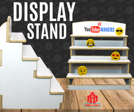 Display Stand for Maker Faire UK
