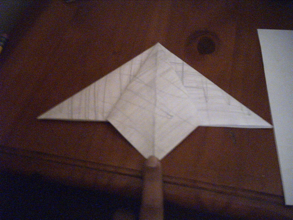 Picture of First Actual Fold
