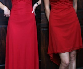 Bridesmaid Gown to Cocktail Dress