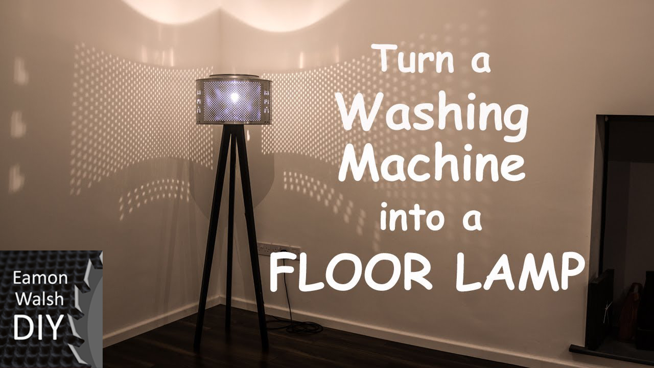 Picture of Turn a Washing Machine Into a Floor Lamp.