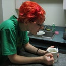Dye your hair a strange color