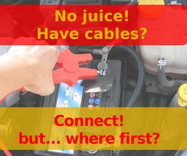 Get Ready For Car Jump Start (a useful checklist to keep with the cables)