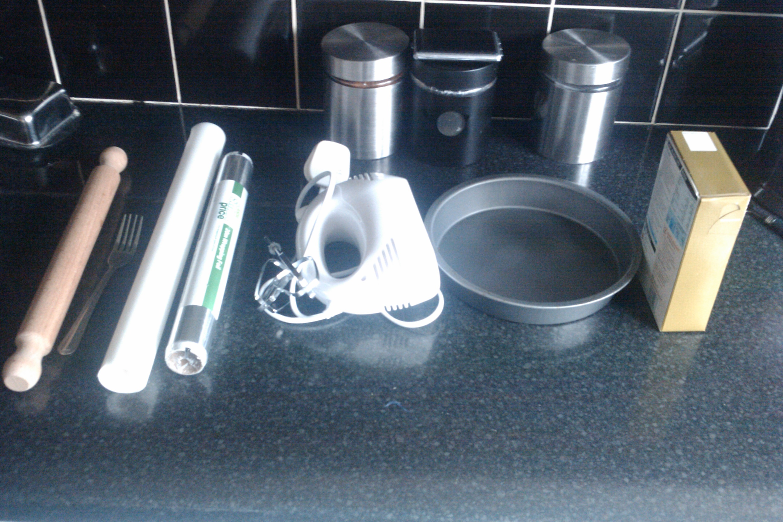 Picture of Ingredients and Equipment