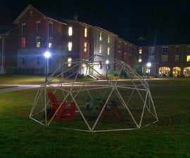 How to build a PVC geodesic dome