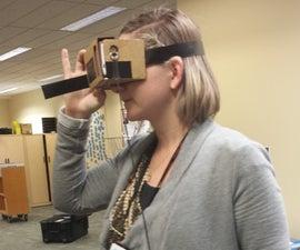 Google Cardboard DODOcase VR headset trigger