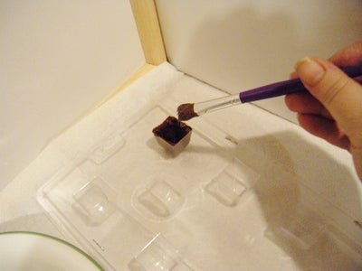 Making the Chocolate Shells!