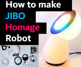 How to Make JIBO Homage : a DIY Music Dance Robot