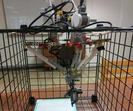 LEGO Delta Robot Scanning & Drawing