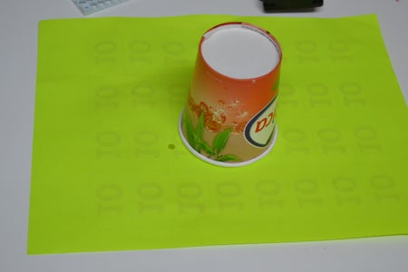 Mount the Circuit to the Mounting Board and Cutting the Cup