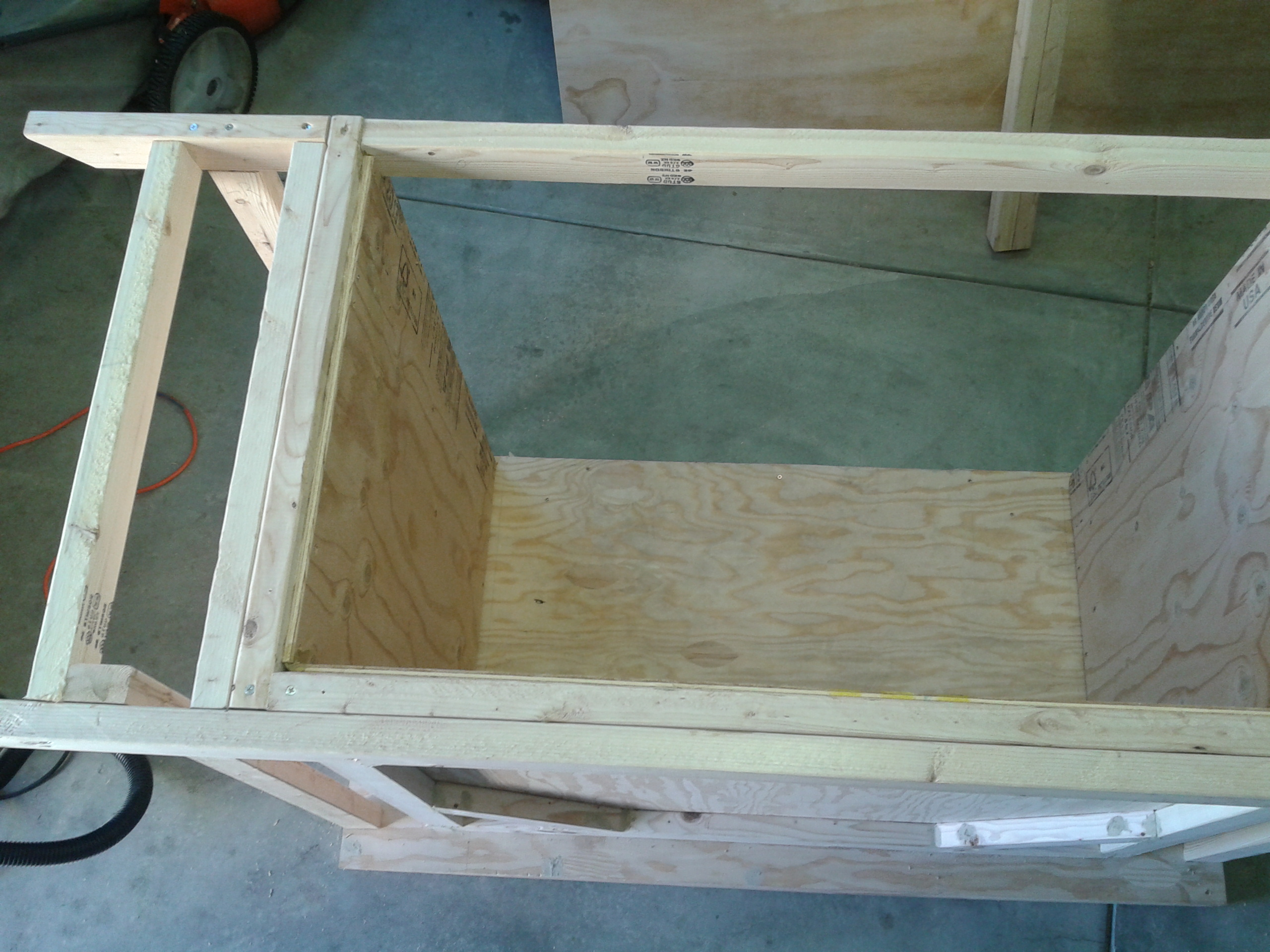 Picture of Expanding Out the Table Top Support