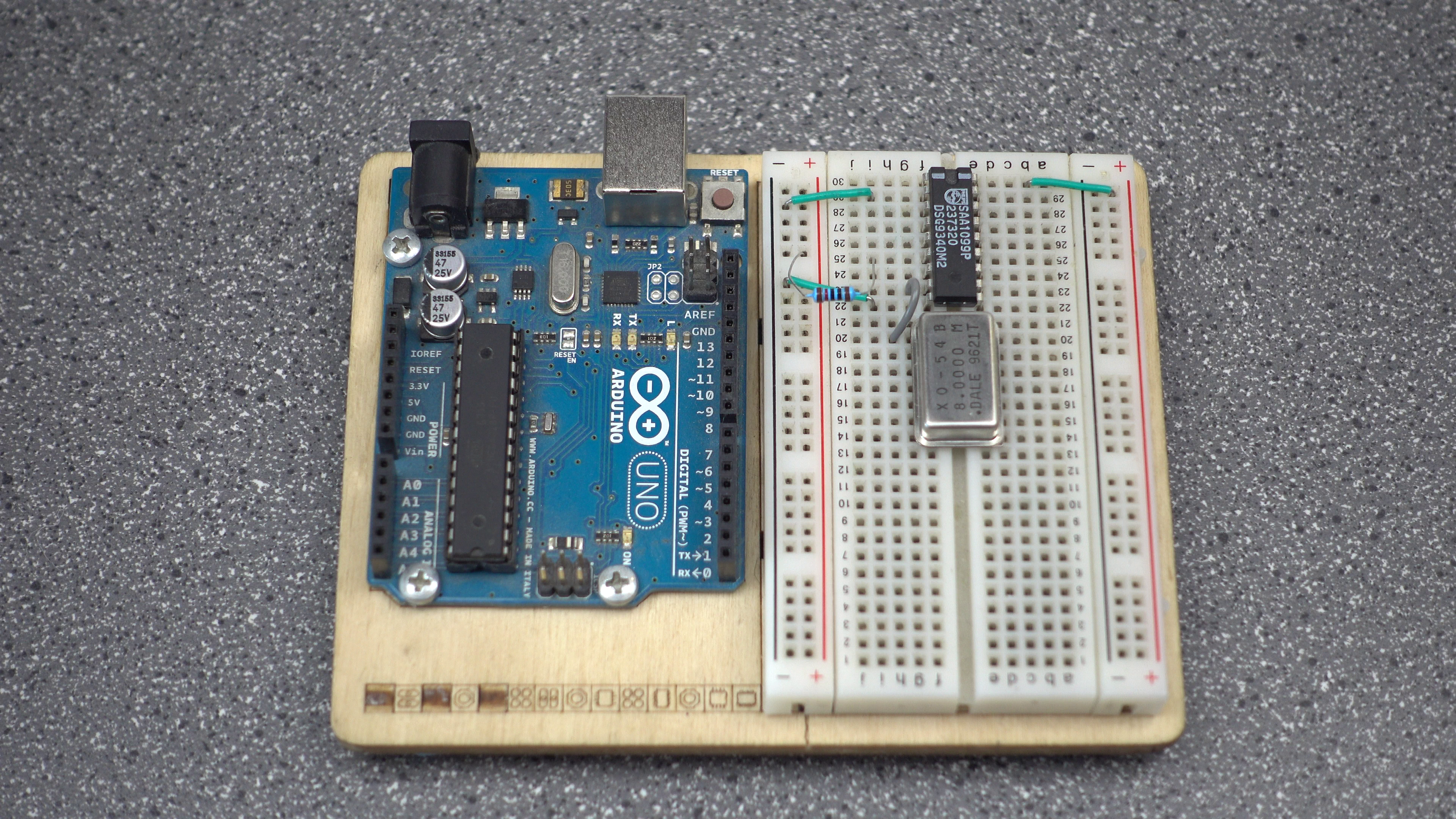 Picture of Wiring - Iref and Chip Interface