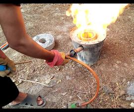 Making a Metal Melting Furnace