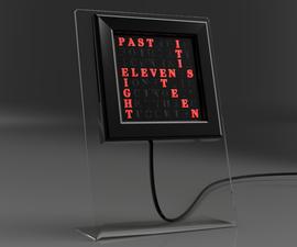 Verbis  - 桌面8x8 RGB LED矩阵字时钟