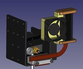 Anet A8 Extruder Cooler Mod