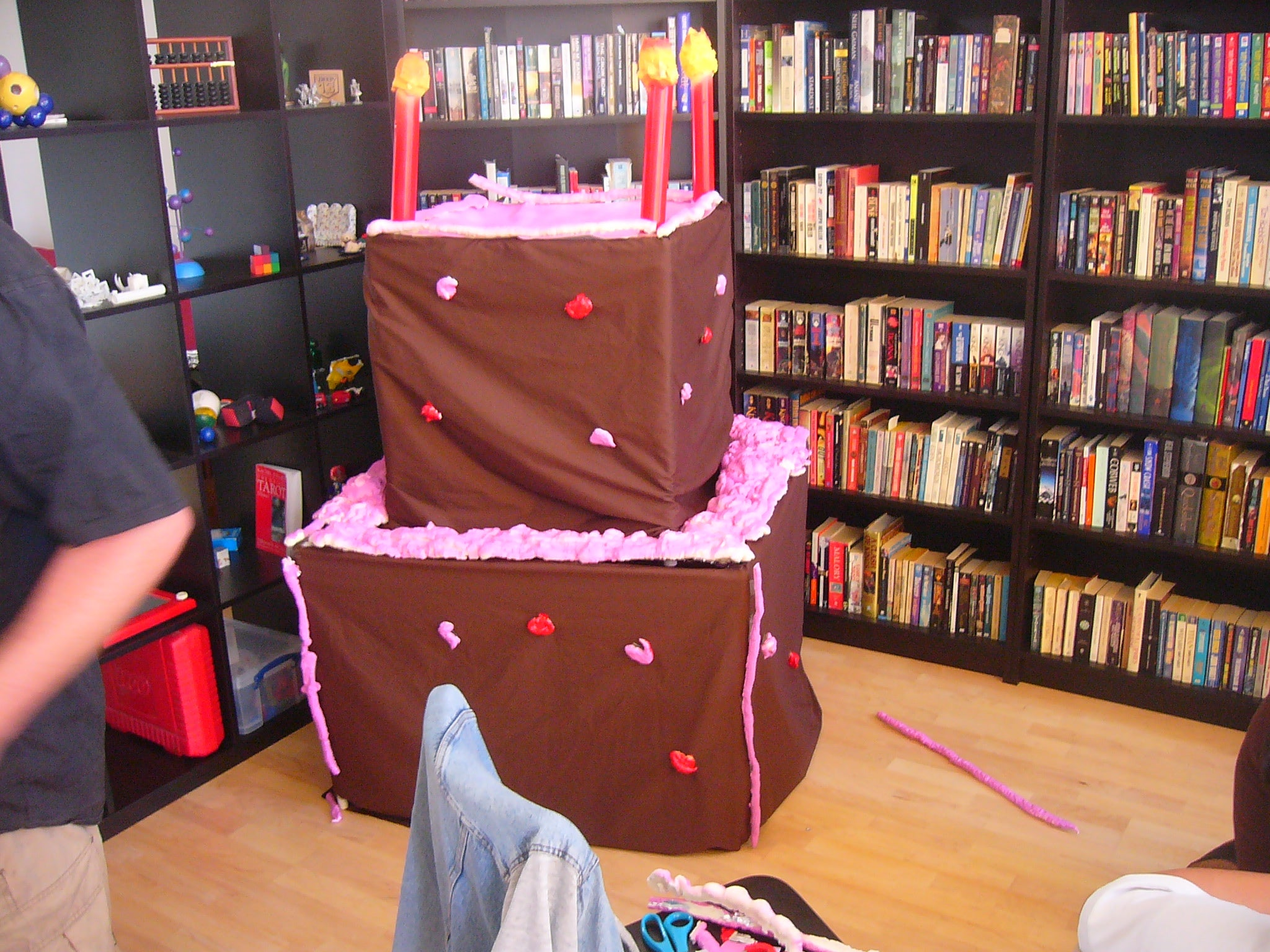 Astonishing How To Make A Stripper Cake 8 Steps Instructables Funny Birthday Cards Online Alyptdamsfinfo