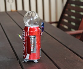 How to make a Coca Cola Robot from recyclables