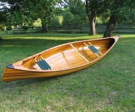 Building a Cedar Strip Canoe