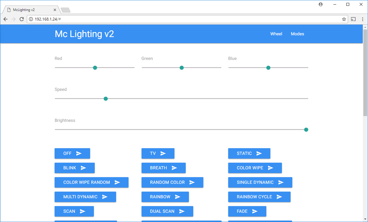 Picture of Software for Arduino Boards (McLighting)