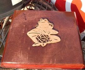Frog Thumper Cigar Box Guitar