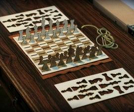 Minimalist Chess Set