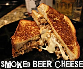 Smoked Beer-cheese Pulled Pork Sandwich!