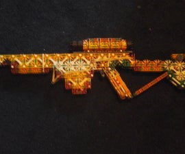 Knex Sniper Rifle Skull Breaker
