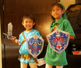 DIY LINK COSTUME: Legend of Zelda - Breath of the Wild & Majora's Mask