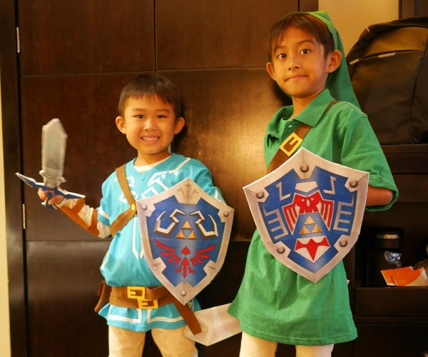 DIY LINK COSTUME: Legend of Zelda - Breath of the Wild & Majora's Mask