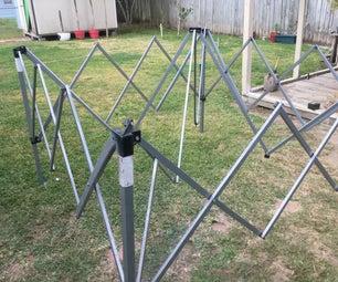 Repairing Canopy Frame Ribs