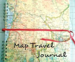 Upcycled Travel Memory Album / Journal and Photo Album