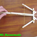 How to make hunting crossbow at home