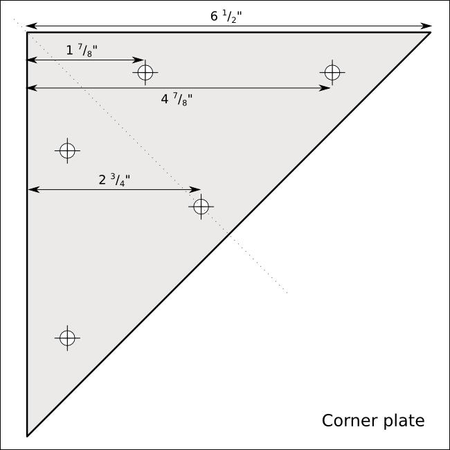 Picture of Corner Plates
