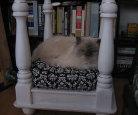 Four-Poster Pet Bed