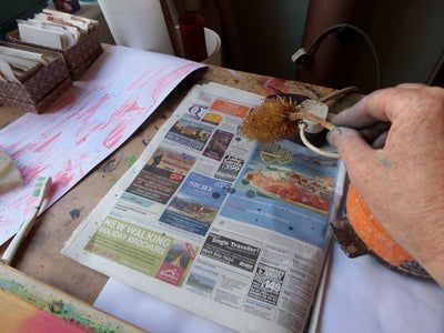 Working With the Wax and Teazle Head