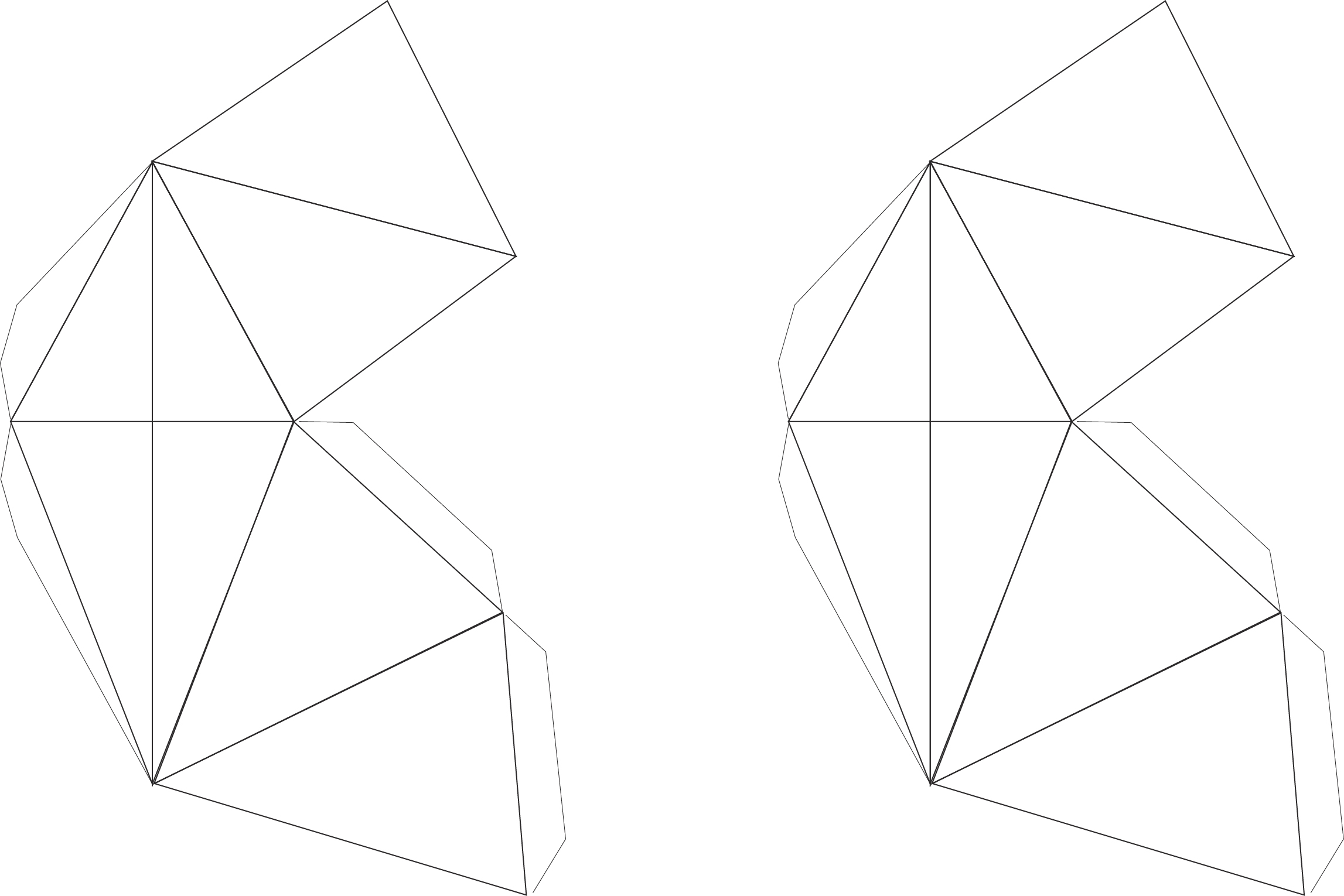 Picture of Print Out the 3d Paper Diamond