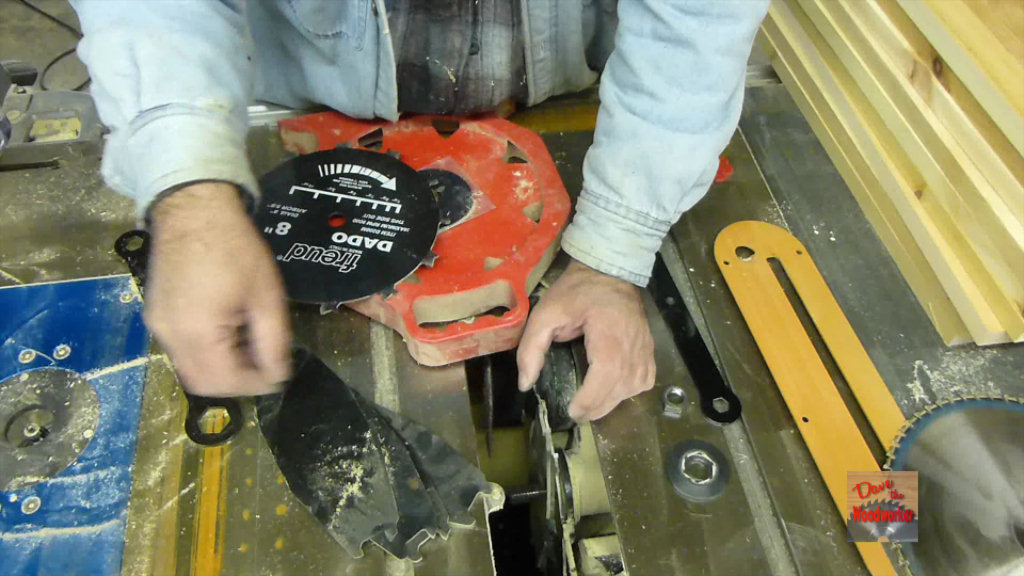 Picture of Install Dado Blades